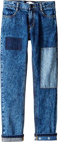 Price comparison product image Little Marc Jacobs Boy's Denim Trousers (Little Kids / Big Kids) Denim Blue Jeans