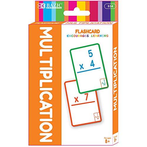 BAZIC Multiplication Flash Cards (36/Pack) ()