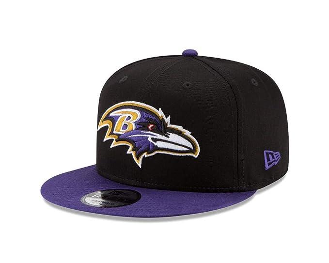 af9b400c Amazon.com : New Era Baltimore Ravens Youth Bycik 9FIFTY Snapback ...
