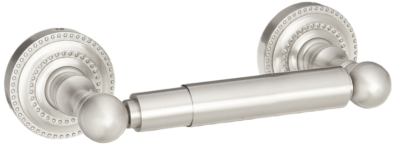 Allied Brass DT-24-SN Dottingham Collection Double Post Tissue Holder, Satin Nickel