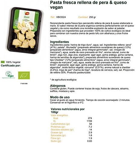 Panzerotto de Pera & Queso Vegan Bio Vivibio, 250g ...
