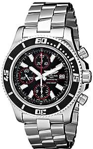 Breitling Men's BTA13341A8-BA81SS Superocean Chronograph II Analog Display Swiss Automatic Silver Watch