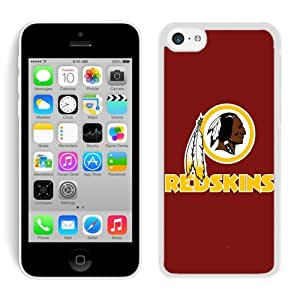iPhone 5C Case ,Unique And Fashionable Designed Case With Washington Redskins 19 White For iPhone 5C Phone Case