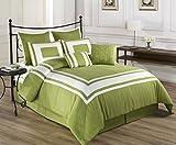 Best KingLinen King Size Beds - Cozy Beddings Lux Decor Collection 8-Piece Comforter Set Review