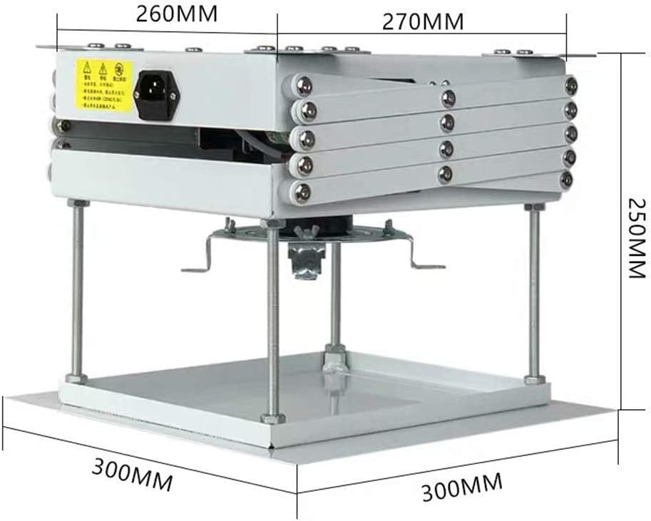 Xue-shelf Mini Proyector Micro Thin Ascensor Ocultos Soporte de ...