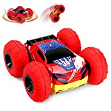 EpochAir RC Car, Kids Toys Remote Control Off-Road Vehicle Racing Car with Inflatable Wheels 360° Rotation Flipping Double-Side Driving High Speed Stunt Cars Toys Funny Gifts Cool Gadgets for Boys Girls Children Teenagers Adults