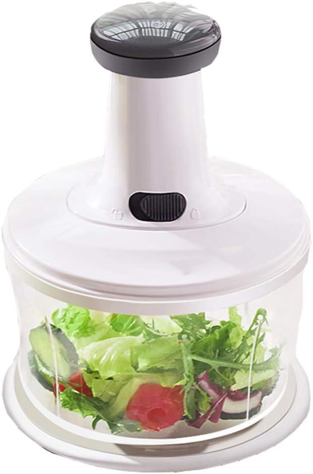 Manual Food Chopper, Professional Onion Chopper, 1.2L, Food Processor/Mixer/Blender, for Vegetarian Food, Garlic, Meat, Baby Food Supplement (Small)