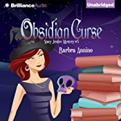 Obsidian Curse: A Stacy Justice Mystery, Book 5 | Barbra Annino