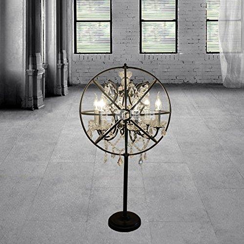 YFF@ILU American retro Wohnzimmer Restaurant und Bar Lampen minimalistischen Nordic kreative ländliche Industrien Satelliten Bügeleisen Tischleuchte
