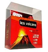 Les volcans : Coffret avec 1 volcan miniature