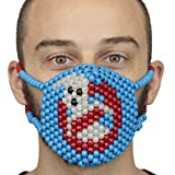 Kandi Gear Rave Masks, Glow in The Dark Kandi Masks, Rave Gear and Rave Outfits (Glow017)