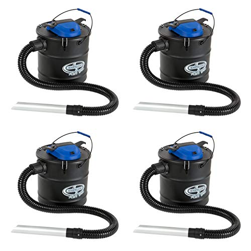 Snow Joe ASHJ201 4.8 Gallon 4 Amp Ash Vacuum (Pack of 4) (Pre Filter Grill)