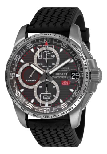 Chopard Men's 168459-3005 Mille Miglia GT XL 2009 Titanium Limited Edition Chrono Grey Dial - Watches Mille Chopard Miglia