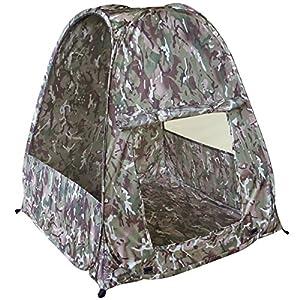 Kombat UK Lightweight Play Kids' Outdoor Pop-Up Tent available in British Terrain Pattern – Size 85 X 85 X 88 cm