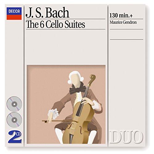 ... Bach, J.S.: The 6 Cello Suites