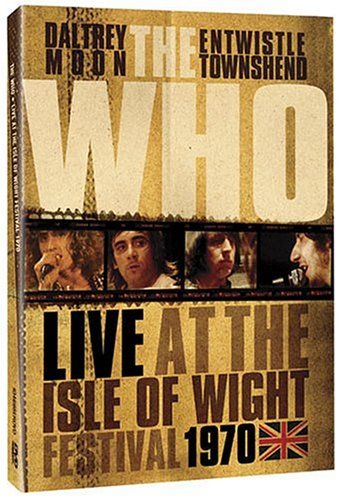 DVD : The Who - The Who: Live at the Isle of Wight Festival 1970 (Remastered)