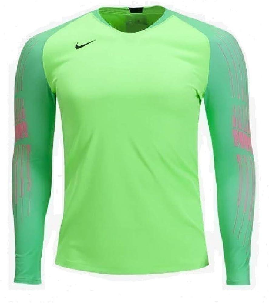 Nike Men's Gardien II Goalkeeper Jersey (Green StripeGreen Spark(Black) Medium