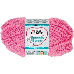 Prima Marketing Red Heart Snuggle Bunny Yarn, Gold Fish