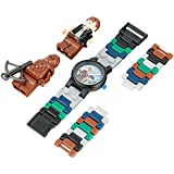 Lego Kids' 8020400 Star Wars Han Solo and Chewbacca Watch with Two Mini Figures