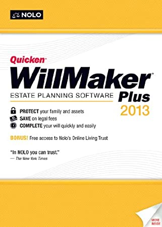 Quicken WillMaker Plus 2013 [Download]