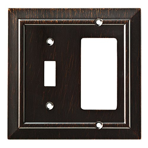 Franklin Brass W35222-VBR-C Classic Architecture Switch/Decorator Wall Plate/Switch Plate/Cover, Venetian Bronze ()
