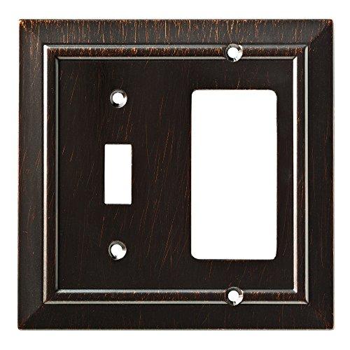Franklin Brass W35222-VBR-C Classic Architecture Switch/Decorator Wall Plate/Switch Plate/Cover, Venetian Bronze