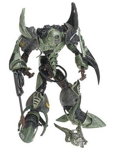 (T M P Intl Cyber Units Ultra Action Figure: Viral Unit 001 - Green)