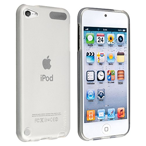 - Insten Frost Clear White Case compatible with iPod Touch 7 Gen 7th/6th Generation, Soft TPU Plain Color Rubber Gel Case Slim Fit Skin Cover Compatible with Apple iPod Touch 7 Gen 7th/6 Gen 6G/5th 5G 5