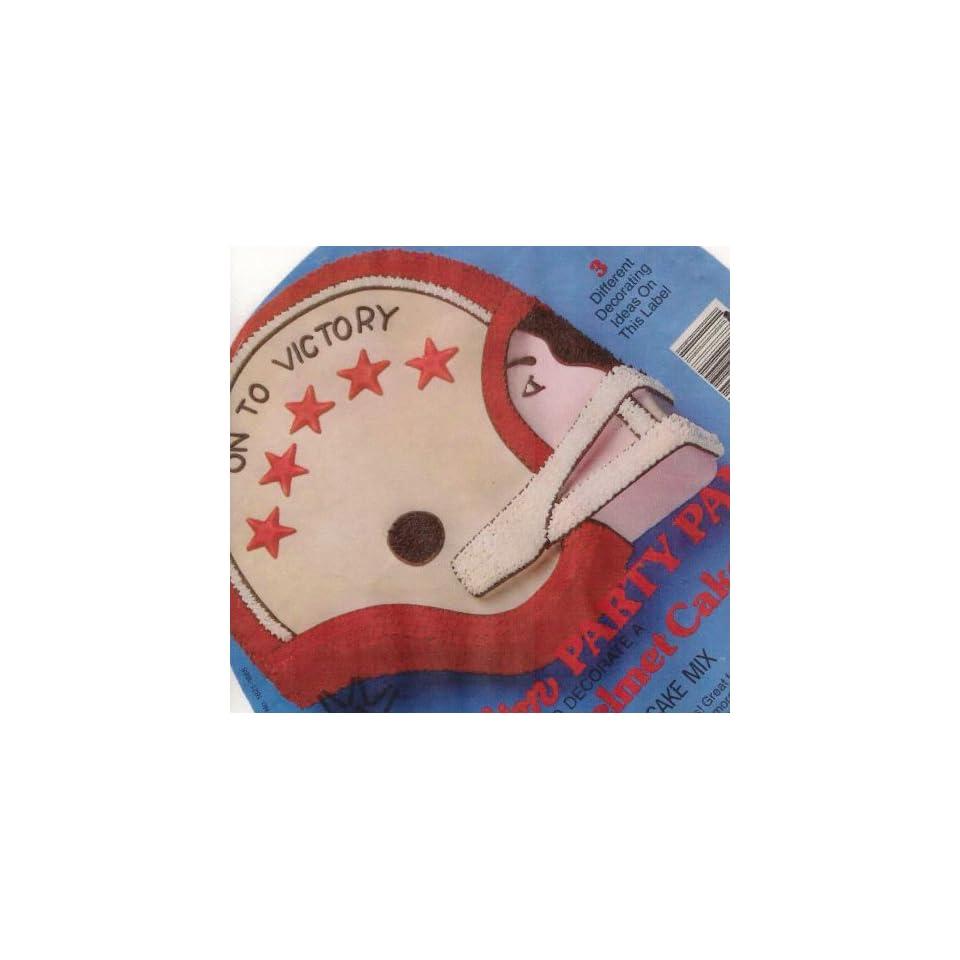 Wilton Cake Pan Football Helmet (502 2723, 1979)