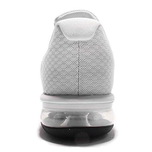 Nike Mens Air Max Sequent 2, Puro Platino / Nero-freddo Grigio-lupo Grigio, 15
