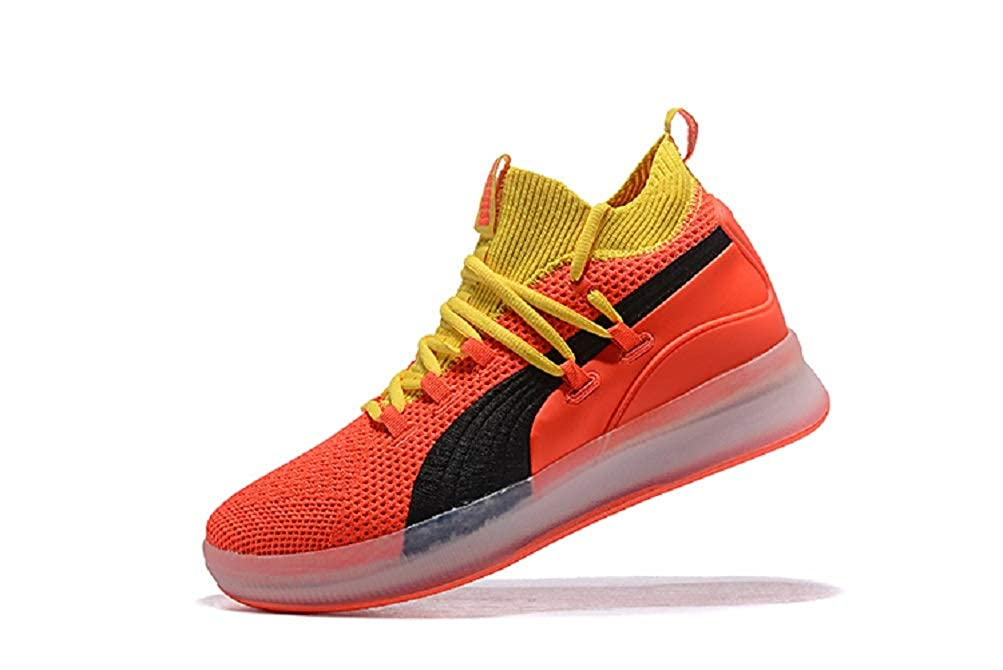 low priced 7d723 f0bf8 Amazon.com | Clyde Court Disrupt Men's Basketball Shoes Red ...