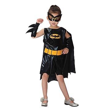 YTSLJ Traje De Batman Femenino De Halloween para Niños ...