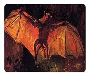 Vincent Van Gogh Rectangular Mouse Pad Bat