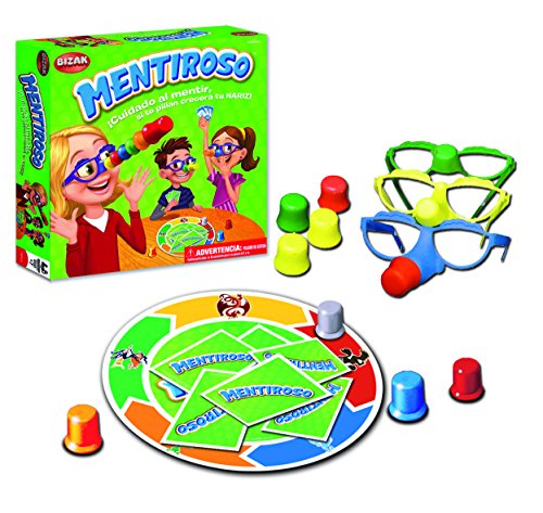 Bizak – Mentiroso, juego de mesa