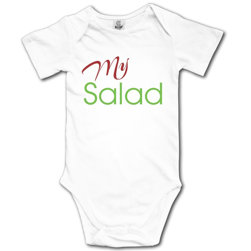 Baby Toddler Climbing Bodysuit My Salad Infant Climbing Short-Sleeve Onesie Jumpsuit