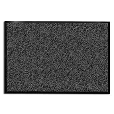 casa pura Carpet Entrance Mat, Gray (Mottled) | Absorbent, Non-slip, Indoor/Outdoor (Multiple Sizes)