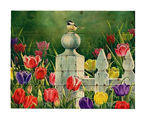 (HADLEY HOUSE Picket Fence Bouquet by Abraham Hunter 18x24)