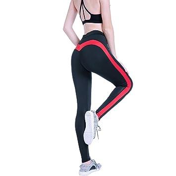 LWLTSL Pantalones de Yoga Medias De Fitness Estiramiento ...