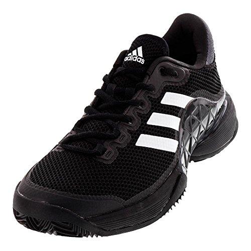 adidas barricade 17 clay hommes est noir noir noir / blanc 7,0 a2d376