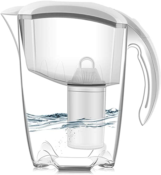 Jarra filtro de agua, Jarra de agua filtrada 2.5L 5 filtro pesado ...