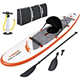 Blue Wave Sports Stingray 10 ft. Inflatable Stand Up Paddleboard with Paddle and Hand Pump