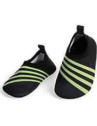 814b6476961e Baby Water Shoes Barefoot Skin Aqua Sock Swim Shoes for Beach Swim Pool