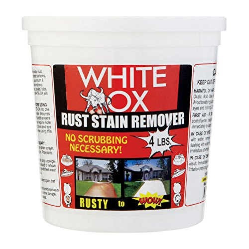White Ox Rust Stain Remover