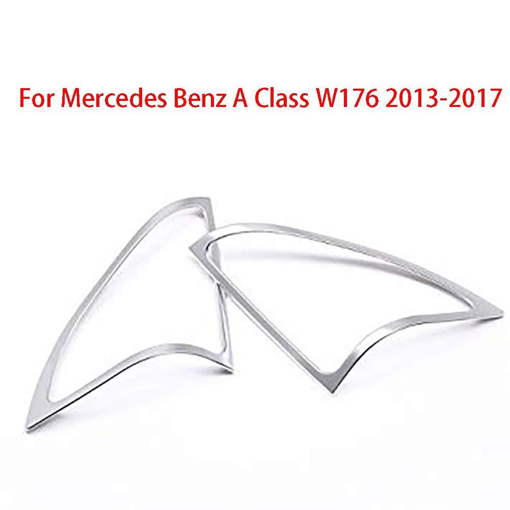 Cromato telaio speaker cover Trim for classe A W176/interior car-styling Parts