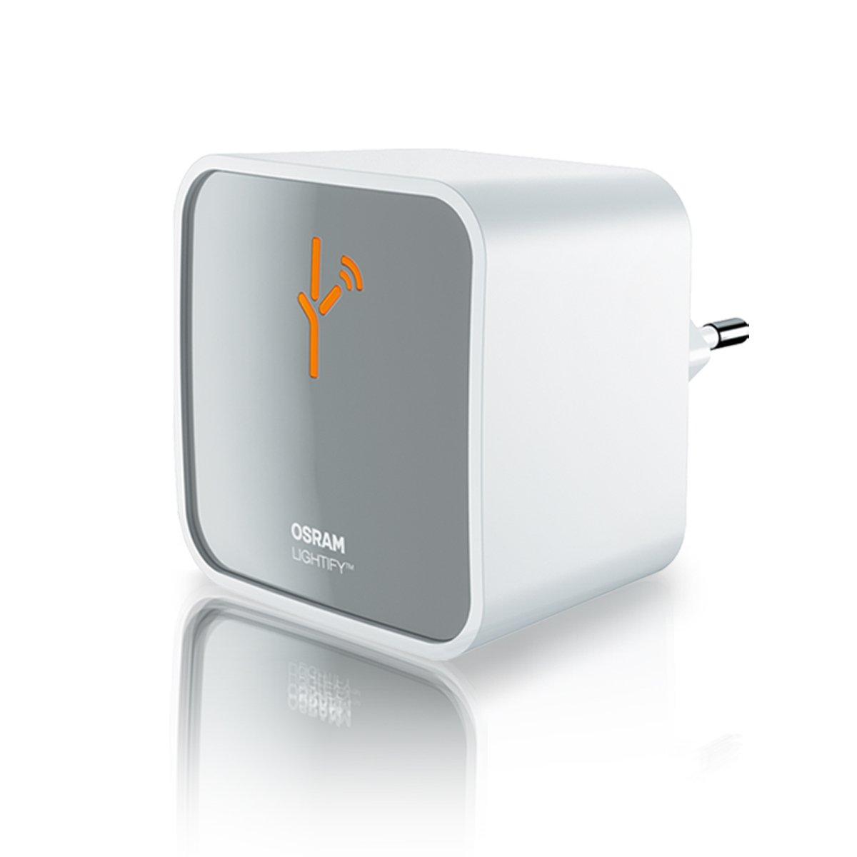 Osram Lightify Gateway Home- Controller zur Fernsteuerung, Als Remote- Schnittstelle für alle Lightify- Produkte, Kompatibel mit Alexa [Energieklasse A] Ledvance 4052899926172