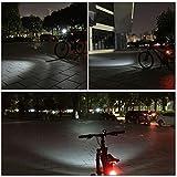 victagen USB Rechargeable Bike Light,Super Bright