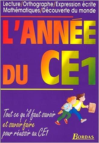 Livre gratuits L'ANNEE DU CE1    (Ancienne Edition) pdf, epub ebook