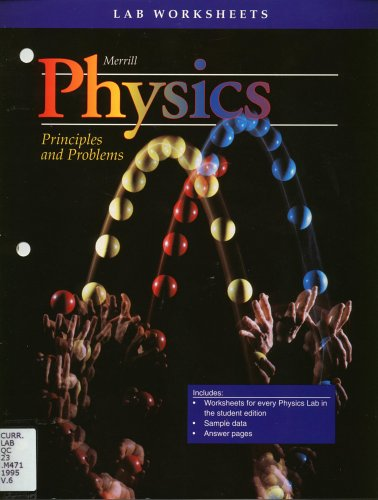 Physics Principles and Problems Lab Worksheets