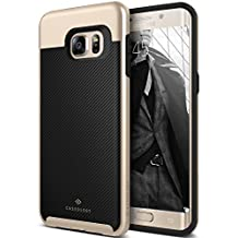 Galaxy S6 Edge Plus Case, Caseology [Envoy Series] Classic Rich Texture Leather [Carbon Fiber Black] [Luxury Slim] for Samsung Galaxy S6 Edge Plus