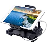 Smatree DJI Mavic Pro Tablet Mount Holder, Foldable Bracket for DJI Mavic Pro/Mavic Platinum/Mavic Air/DJI Spark+ Lightning to USB Cable for iPhone iPad [MFi Certified]